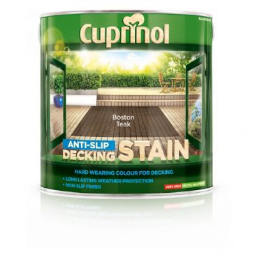 Cuprinol 2.5L Boston Teak decking stain